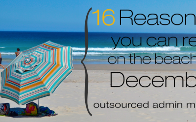 16 Reasons why you can relax this December
