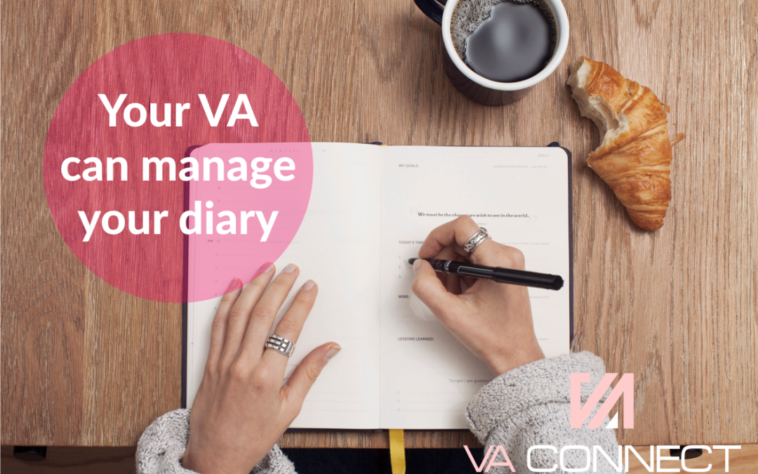 How Your VA Can Effectively Manage Your Diary
