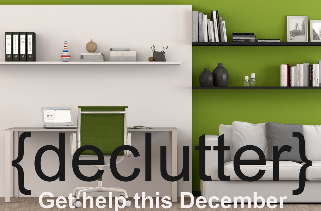 Declutter your office and home before this December holidays